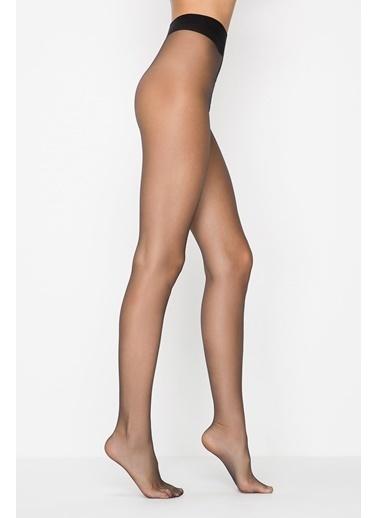 Penti Buğday Premier 6 Külotlu Çorap Siyah